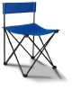 Silla plegable color disponible: azul