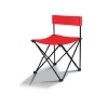 Silla plegable color disponible: rojo