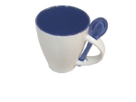 Coffe set estuche good idea, color del producto blanco y azul
